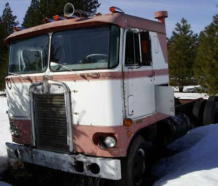 1960 Kenworth Cabover question