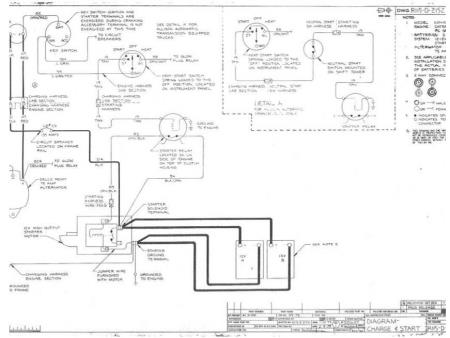 Wiring    schematics for a Kenworth W900b