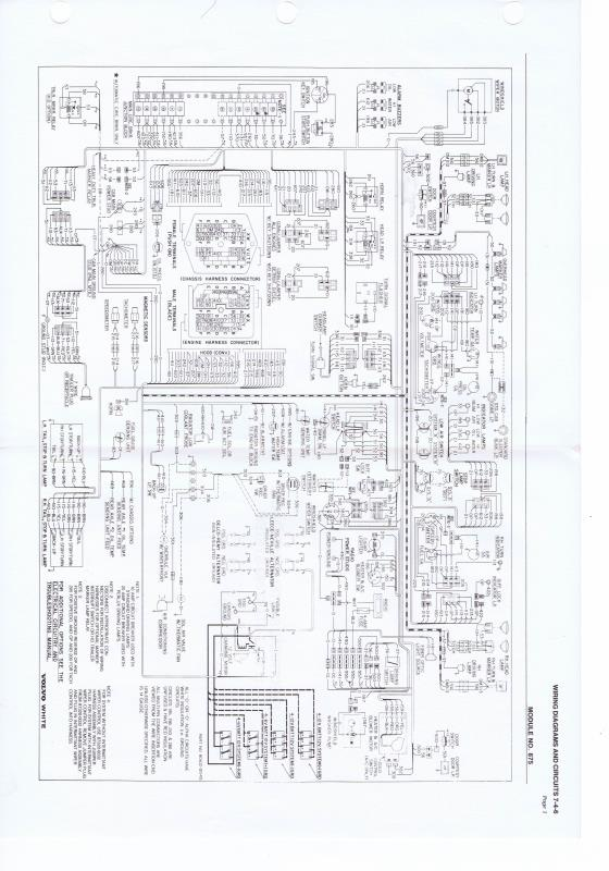 need wiring diagram for 1987 white Volvo | Volvo Roller Wiring Diagram |  | just old trucks
